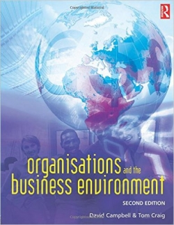 Organisations and The Business Environment Second Edition